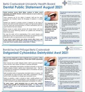 Dental Public Statement from Betsi Cadwaladr