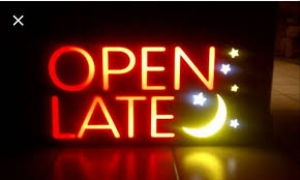 Open Monday & Tuesday Evenings